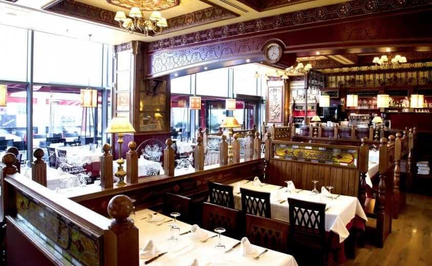 Restaurante La Tagliatelle en el centro comercial La Maquinista