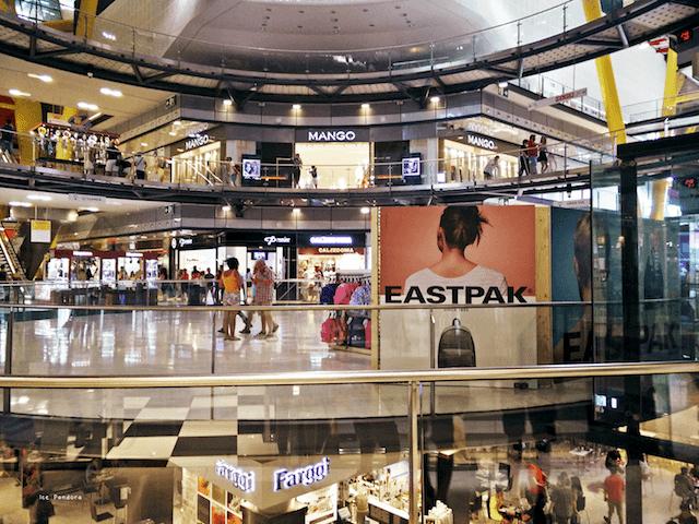 Tiendas del Centro Comercial Las Arenas