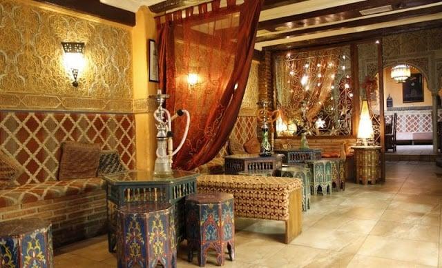 Casa de té (tetería) en Granada