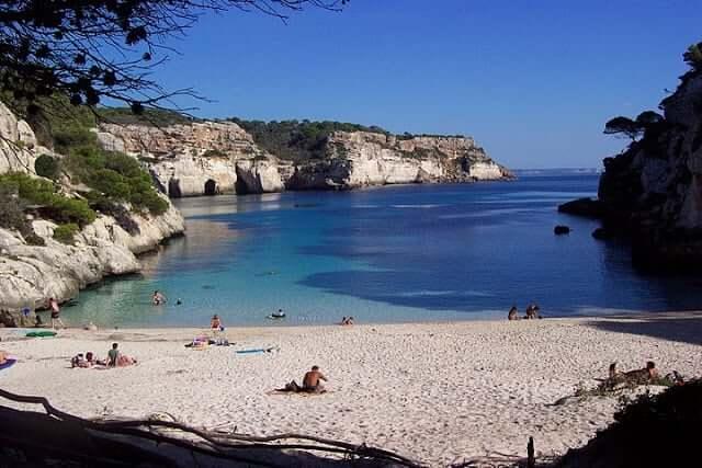 Cala Macarelleta en Menorca