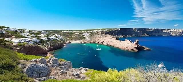 Cala Morell en Menorca