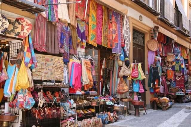 Compras en Granada - Alcaicería