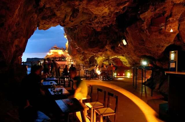 Cova d'en Xoroi en Menorca