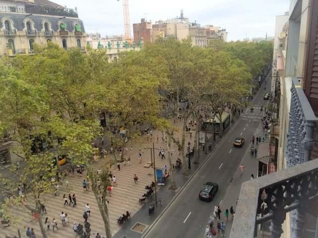 Pensión en Barcelona
