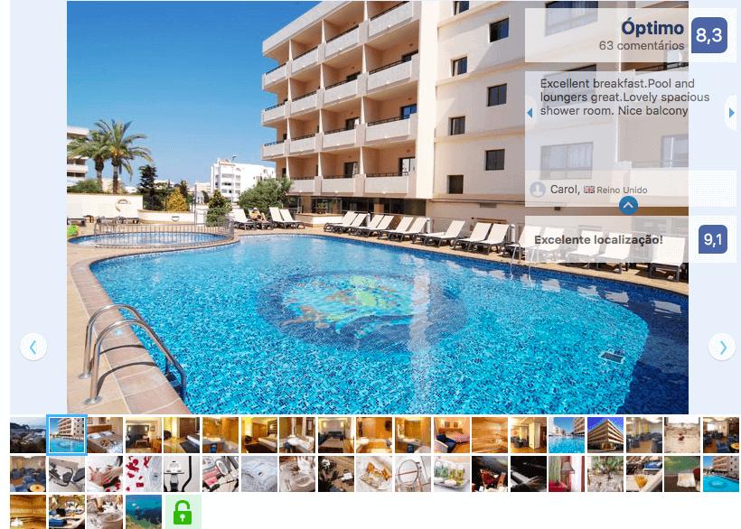 Invisa Hotel La Cala en Ibiza