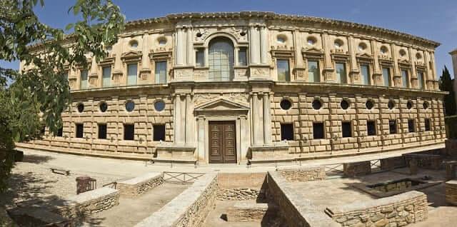 Palacio Carlos V en Granada