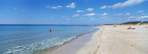 Playa de Son Saura en Menorca