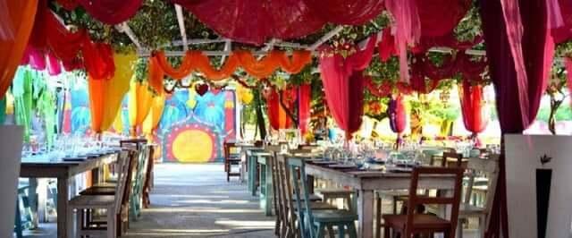 Restaurante Las Dalias en Ibiza