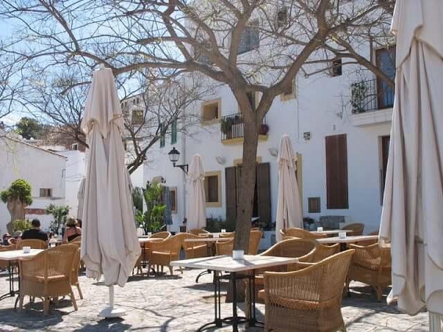 Restaurante Plaza del Sol en Ibiza