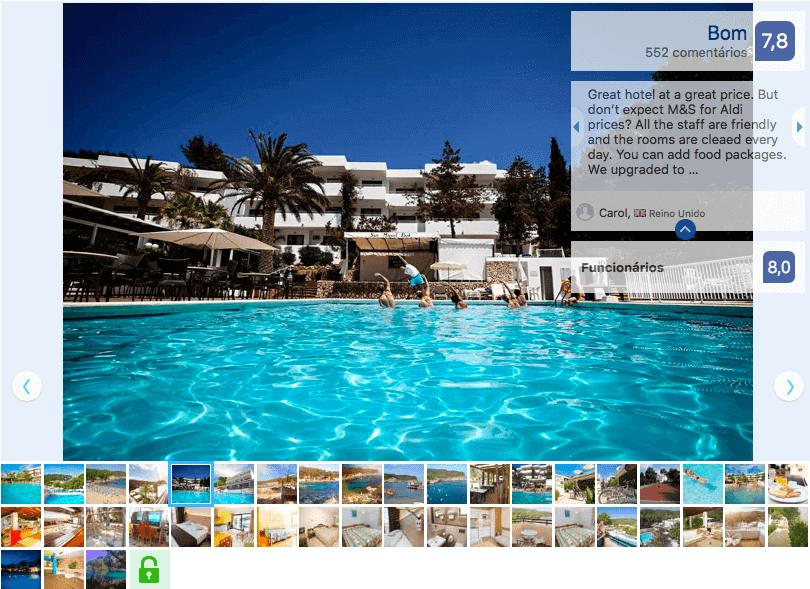 San Miguel / Esmeralda Mar em Ibiza