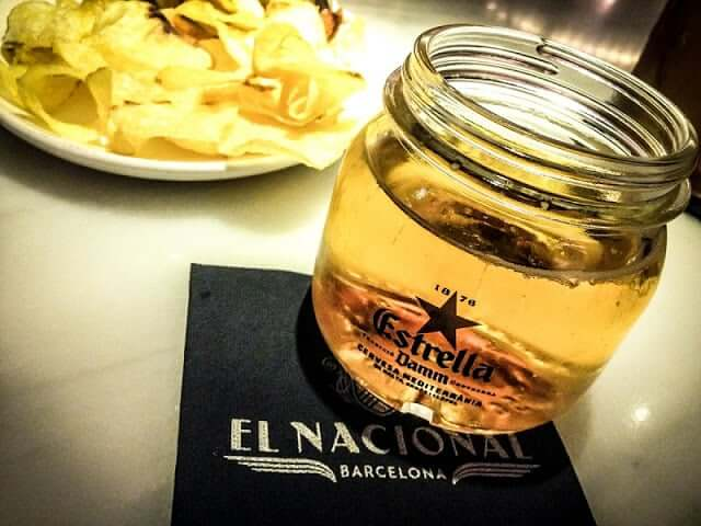 Beber en Barcelona - Cerveza Estrella Dam