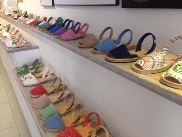 Compras en Menorca - zapato menorquina