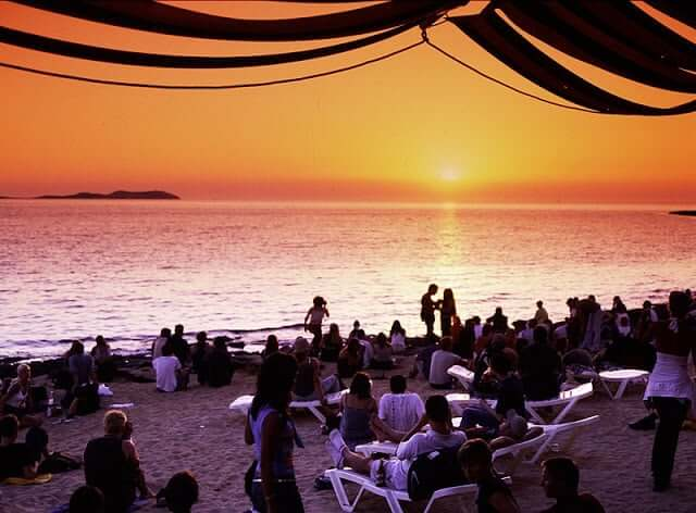 Pasear en Sant Antoni - Café del Mar