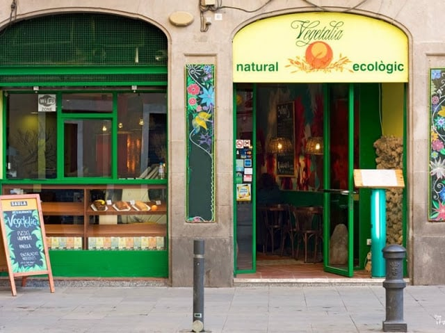 Restaurantes Vegetarianos en Barcelona