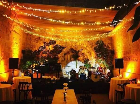 Bar Sa Falua en Menorca - jardín