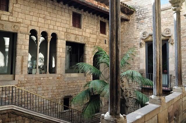 Museo Picasso en el Carrer Montcada