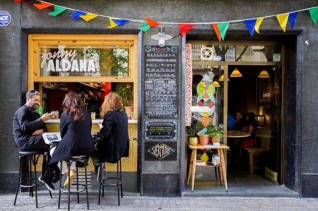 Jonny Aldana en Barcelona