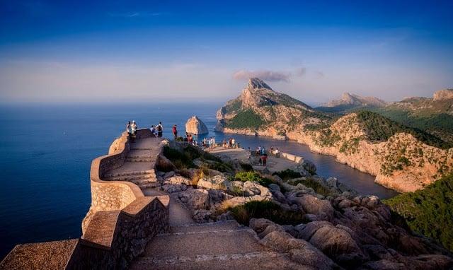 Mirador Sa Creueta en el Cap de Formentor