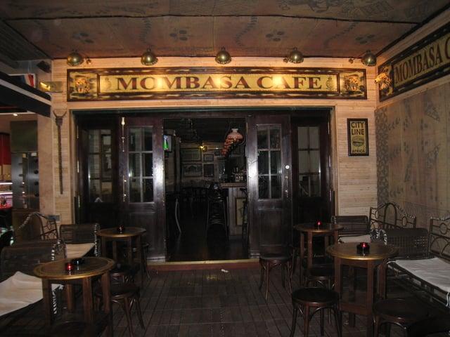 Bar Mombasa Cafe en Mallorca