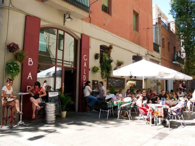 Bar Calders en Barcelona
