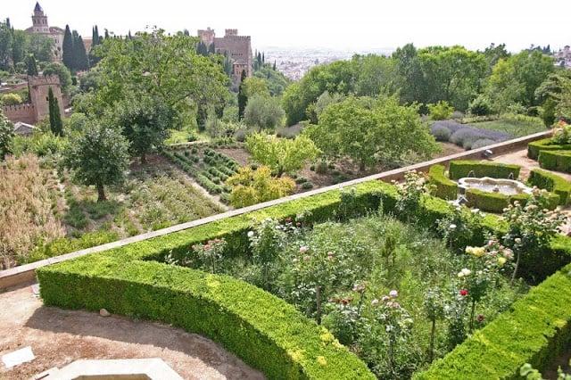 Jardines de Generalife