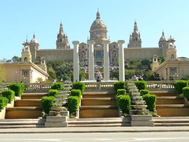 Palau Nacional - Museo Nacional d'Art de Cataluña