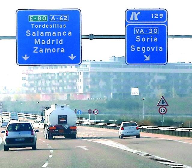 Carretera de Barcelona a Madrid