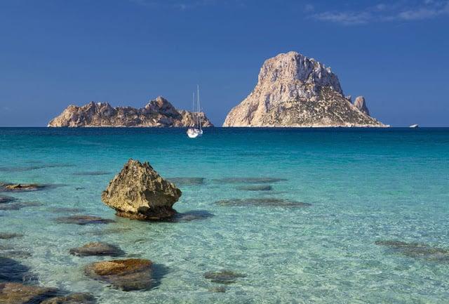 Playa Cala D'Hort en Ibiza