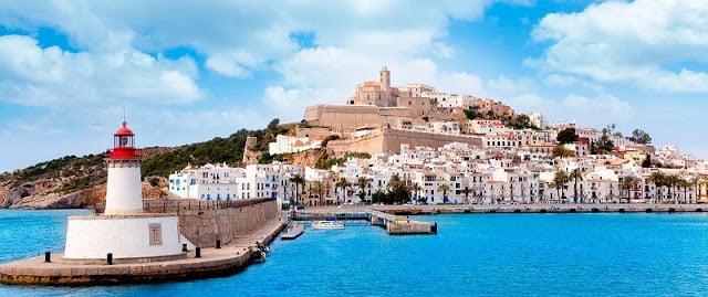 Dalt Vila y región del Puerto de Ibiza