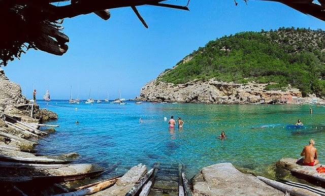 Playa de Benirras en Ibiza