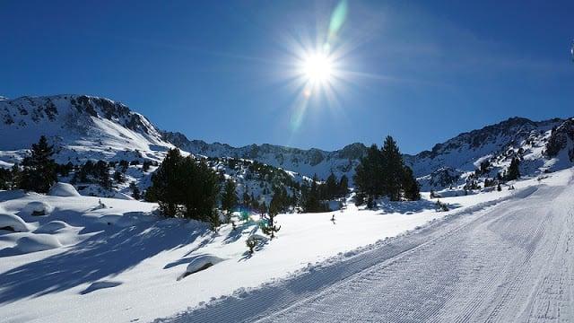 Estación de esquí en España
