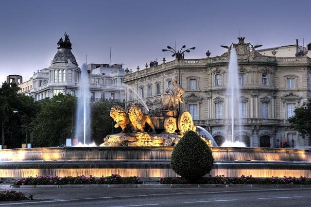 Paseos en Madrid durante el invierno