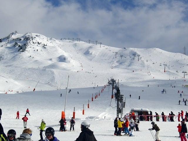 Estación de esquí Baqueira-Beret