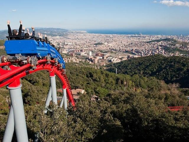 Paseos por las partes altas de Barcelona - Tibidabo