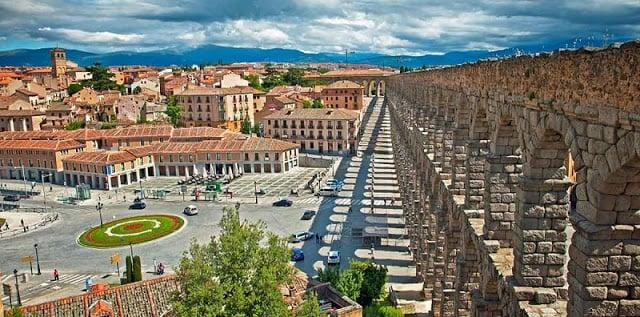 Paseo en Segovia