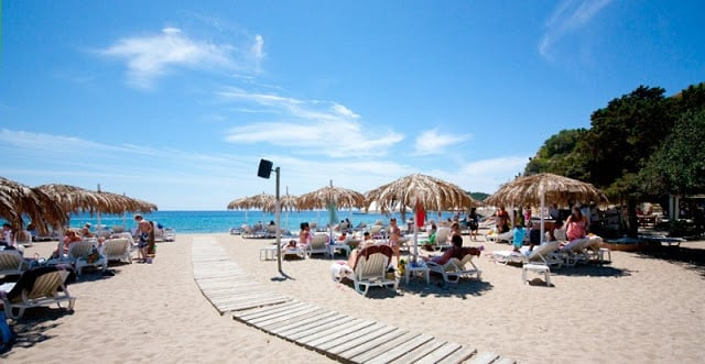 Playa Cala Jondal en Ibiza
