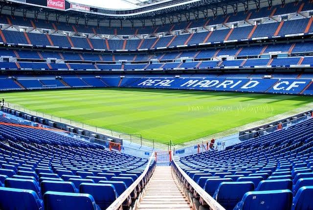 Tour en el Estadio del Real Madrid
