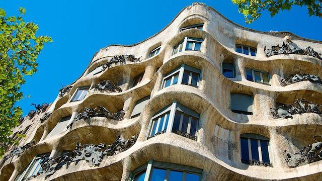La Pedrera o Casa Milà de Gaudí