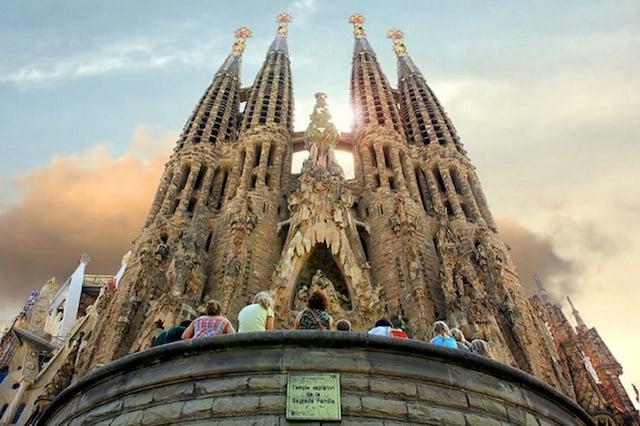 Templo Sagrada Familia en Barcelona
