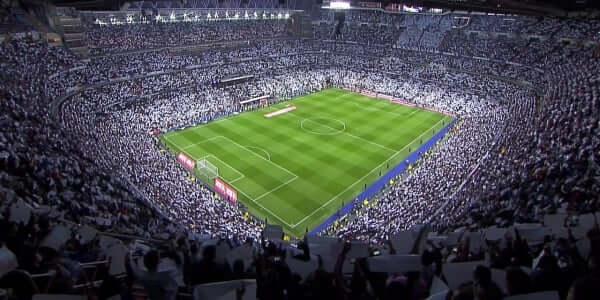 Juego del Real Madrid en Santiago Bernabéu