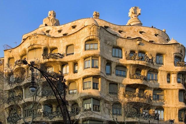 La Pedrera en Barcelona: Casa Milà