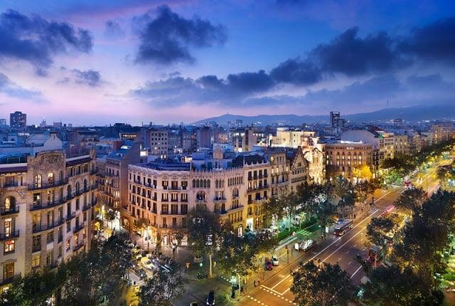 Hoteles excelentes y económicos en Barcelona