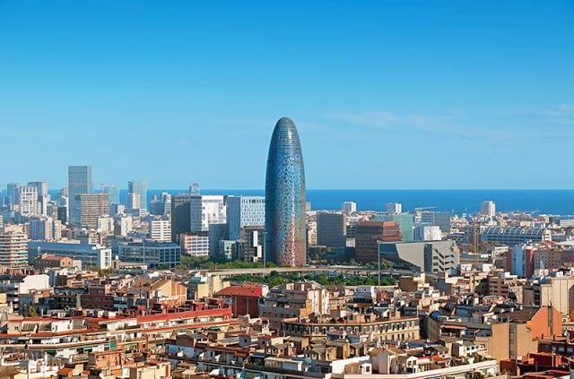 Hoteles excelentes en la zona turística de Barcelona