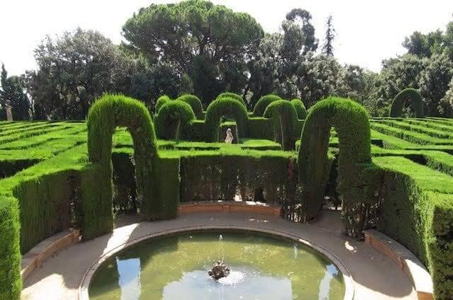 Parc del Laberint d'Horta en Barcelona