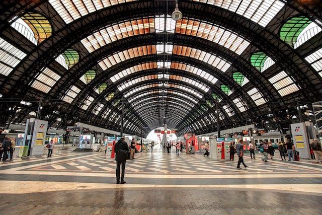 Viaje en tren de Barcelona a Milán