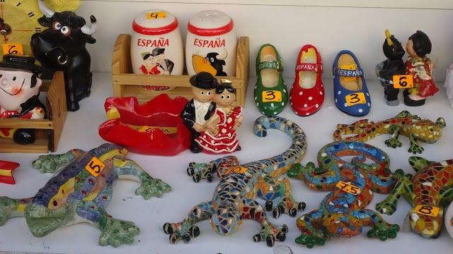 Dónde comprar recuerdos y suvenires en Barcelona