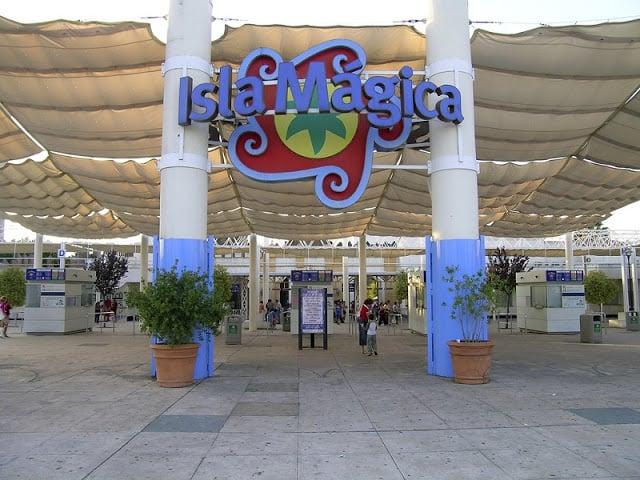Isla Mágica en Sevilla