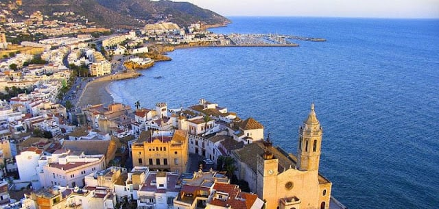 Ida y vuelta de Barcelona a Sitges