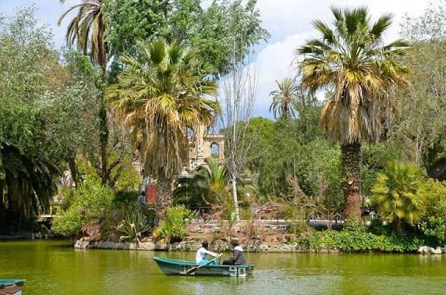 Parques para disfrutar la primavera en Barcelona
