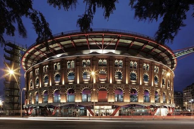Centro Comercial Las Arenas en Barcelona